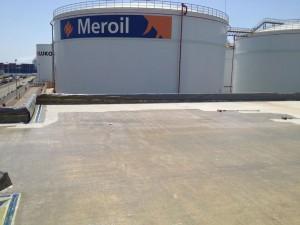 Poliurea en la industria química y petrolífera